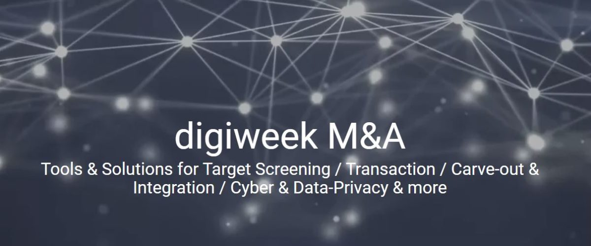 M&A Digitization Week Europe 2021